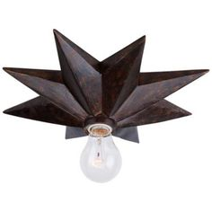"Crystorama Astro 12"" Wide Bronze Ceiling Light Fixture perhaps this style would work for the stairwell lights?"
