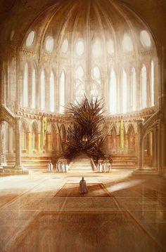 The Iron Throne by Marc Simonetti