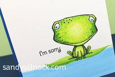 Indecisive Frog: Freckles