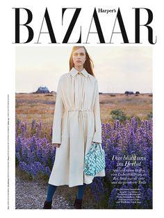 Hedvig Palm for Harper's Bazaar Germany September 2015