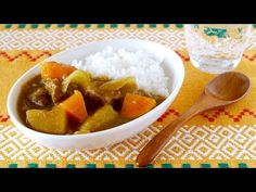 ▶ How to Make Japanese Curry Rice From Scratch (Recipe) ルウを使わないヘルシー手作りカレーライス (レシピ) - YouTube