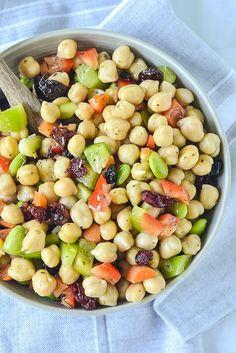 Chickpea & Edamame salad