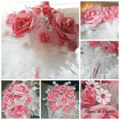 Wedding bouquet par FleursDePapierHelene sur Etsy, $185.00