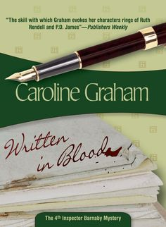 Written in Blood, an Inspector Barnaby mystery, by Caroline Graham