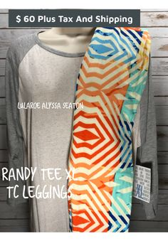 #lularoealyssaseaton #lularoe #randytee #leggings