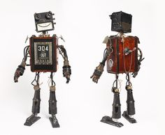 Carter robot by artist Mike Rivamonte #robot #gifts
