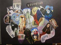 Dino Buchmann, Menschen, 2016, Collage auf Leinwand, BxH 75x58 cm on ArtStack #dino-buchmann #art Painting, Art, Canvas Collage, People, Photo Illustration, Art Background, Painting Art, Kunst, Paintings