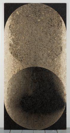 Michael DeLucia - Black coil, 2011