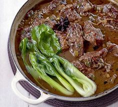 Chinese-style braised beef one-pot