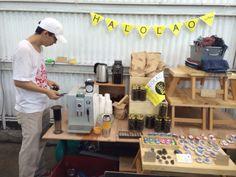 pop up cafe @mari market  halolao coffee n books  19/4/2015