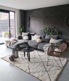 30 Best Minimalist Living Room Interior Design Ideas You Can Try Minimalist Living Room Design Ideas Interior Living Minimalist Room Cozy Living Rooms, Living Room Grey, Home Living Room, Living Room Designs, Simple Living Room Decor, Living Room Without Tv, Nordic Living Room, Room Interior Design, Living Room Interior