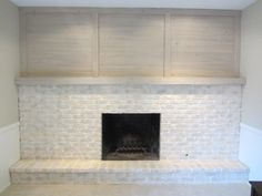 Fireplace AFTER updated