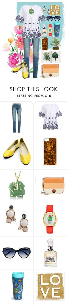 """""""By The Way"""" by elsiebeagie ❤ liked on Polyvore featuring Yves Saint Laurent, Zero Gravity, Glitzy Rocks, Halston Heritage, Mociun, Kate Spade, La Perla, Juicy Couture and Vera Bradley"""