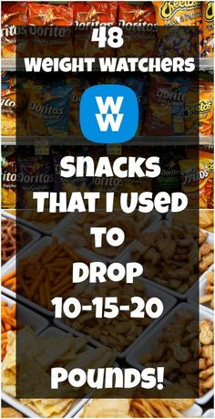 48 Weight Watchers Snacks That I Used to Drop 10-15-20 Pounds!   weight watchers cooking