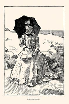 The Chaperone, by Charles Dana Gibson