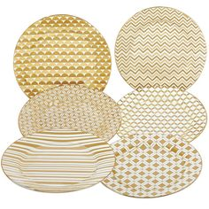 """You'll love the Blayze 8"""" Tapered 6 Piece Dessert Plate Set at Wayfair - Great Deals on all Kitchen & Tabletop products with Free Shipping on most stuff, even the big stuff."""