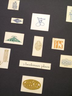 BEADS /& MONOGRAM DESIGN #1 LASER ROUND ADDRESS LABELS GLOSSY /& MATTE