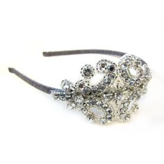 Crystal headband just add a touch of sparkle <3