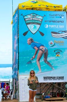 Vanina Walsh on the Stand Up World tour poster  @ROXY @ROXY Europe http://www.vaninawalsh.com/