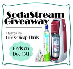 SodaStream Giveaway Event - ends 12/13