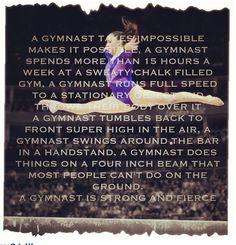 Gymnastics..
