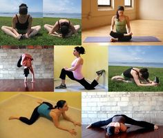 tight hip flexers which adds to low back pain, poor posture poochy belly.