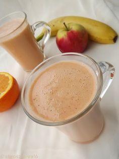 Kipróbált és bevált receptek ...: Almás-sárgarépa smoothie