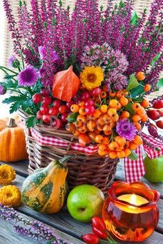 Ideen zur Dekoration im Herbst, im Garten, im Haus zur Gestaltung und Inspiration mit: www.HarmonyMinds.de