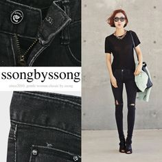 Post Times Slim Skinny Low Rise Jeans