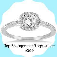 Click Through To See The Top Engagement Rings On For Under 500