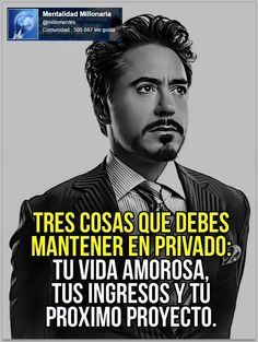 Visit the post for more. Spanish Inspirational Quotes, Spanish Quotes, Quotes To Live By, Life Quotes, Millionaire Quotes, Quotation Marks, Motivational Phrases, Leadership Quotes, Life Motivation