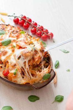 Penne, Good Mood, I Foods, Lasagna, Food Inspiration, Pasta Recipes, Cabbage, Spaghetti, Healthy Recipes