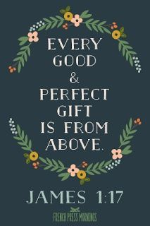 "Is God still surprising you? My devotion called ""Every good and perfect gift."" http://theseheelsaremadeforwalking.wordpress.com/2014/01/31/every-good-and-perfect-gift/"