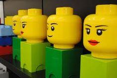 Rangement Tête Lego