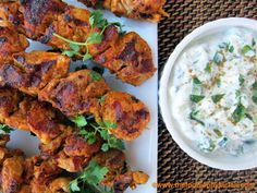 Make the Kabobs and then Make Pizza with the leftover Chicken! (see link at the bottom) Tandoori Chicken Kabobs by the foodiephysician: Cook once, eat twice. Great Recipes, Favorite Recipes, Healthy Recipes, Yogurt Recipes, Egg Recipes, Delicious Recipes, Healthy Foods, Tandori Chicken, Tandoor Oven