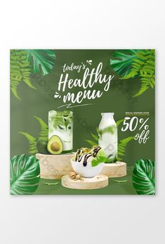 Healthy Juice Drinks, Healthy Menu, Squash Drink, Best Grilled Chicken Marinade, Milkshake Drink, Valentine Drinks, Green Tea Drinks, Food Banner, Healthy Shopping