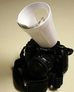 How to make a flash diffuser and reflector from your existing built in flash ~ Tutorial Geek