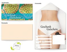 Motiv Cellulite - Gutscheinvorlagen