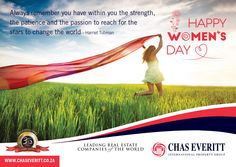 To all women, Happy Woman's Day