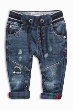 Click the Pin to Take the Indigo Children TestFind out if you are a Indigo Child or Adult Buy Denim Dk Blue Contrast Check Distressed Jeans online today at Next: United States of America Source by Jeans Little Boy Fashion, Kids Fashion Boy, Toddler Fashion, Indigo Children, Baby Jeans, Kids Pants, Kid Styles, Swagg, Kids Wear