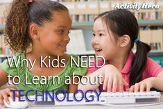 Set your kids up for a more successful future! Read about the benefits of your children learning technology.