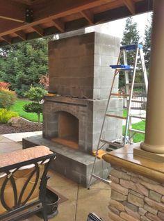 Indoor Outdoor Fireplace #indoor #outdoor Indoor Outdoor Fireplace
