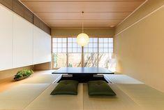 大野城第二 Japanese Restaurant Design, Japanese Interior Design, Japanese Home Decor, Asian Home Decor, Japanese House, Bedroom Minimalist, Minimalist Home, Japan Room, Tatami Room