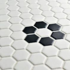 "2"" Unglazed Porcelain Hex Tile - Arctic White   White ..."