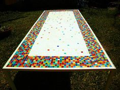 Table, mosaic,furniture