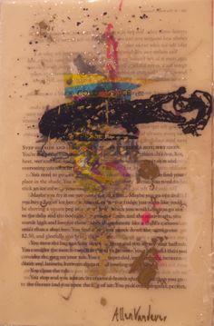 Allen Vandever; Chicago; cotemporary; new; yoga; nude; epoxy; artist; abstrac; new; collage; Chicago Artist Et12