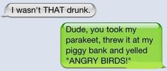 """These """"I wasnt that drunk"""" texts make me laugh. Drunk Texts, Funny Texts, Fail Texts, Can't Stop Laughing, Laughing So Hard, Me Quotes, Funny Quotes, Funny Phrases, Lol"""