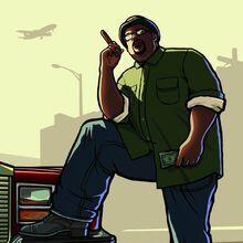 San Andreas Grand Theft Auto, San Andreas Gta, Grand Theft Auto Games, Grand Theft Auto Series, Arte Hip Hop, Hip Hop Art, Gta San Andreas Wallpapers, Big Smoke Memes, Rockstar Games Gta