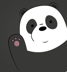 "1,869 Me gusta, 33 comentarios - We Bare Bears (@officialwebarebears) en Instagram: ""Pan Pan says hello! Via: @webarebears.official"""