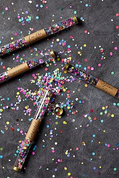 LOVE these Confetti Wands by Anthropologie!